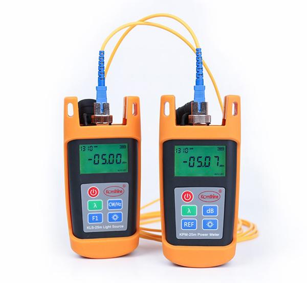江苏吉星KLS-25高精度稳定光源和KPM-25光纤功率计使用方法